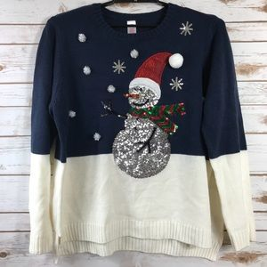 Holiday Time Ugly Christmas Sweater (Bin: SW2)